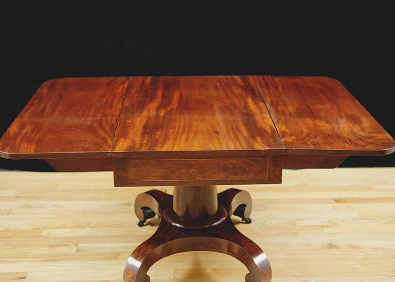 Dining Table Antique Empire Dining Table