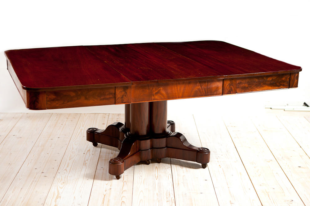 Dining Table American Empire Dining Table