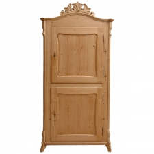 19th Century Louis Philippe Pine Cupboard