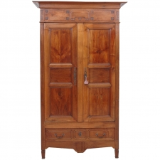 French Directoire Armoire in Walnut