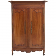 Antique Louis XVI Pays de la Loire Armoire in Cherry, circa 1800