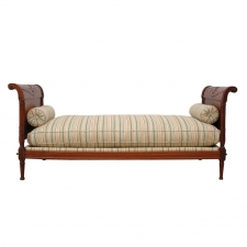 Directoire Daybed in Walnut, France, circa 1800