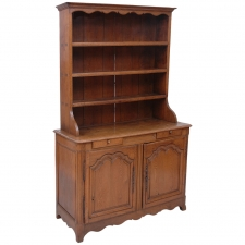 19th Century French Cupboard or Vaiselier in Oak