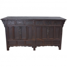 19th Century Chinese Coffer Sideboard