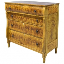 Lancaster County American Empire Faux-Grained Chest of Drawers, circa 1830
