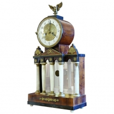 American Federal Neoclassical Mantle Clock, New England, circa 1810