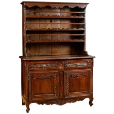 18th Century Louis XV French Cupboard in Walnut