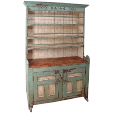English Pewter Cupboard, c. 1820