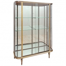 French Art Deco Vitrine or Glass Cupboard, circa 1920