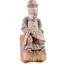 18th Century Chinese Ancestral Sculpture
