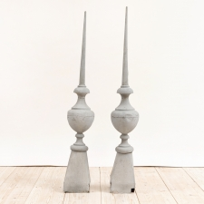 French Antique Steeples in Zinc