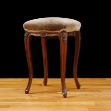 French Louis XV Style Stool, c.1900