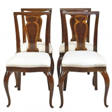Set of Four Dining Chairs in Rosewood, c. 1910
