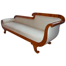 Karl Johan Biedermeier Recamier or Chaise Longue, Sweden, c. 1825