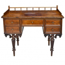 """Hans Christian Andersen"" Mahogany Writing Desk or Vanity, Denmark, circa 1850"