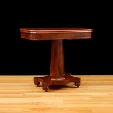 American Game Table in Mahogany, c. 1880