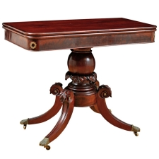 American Federal Game Table, c. 1815