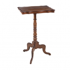 Antique Northern European Candle Stick Side Table, c.1850