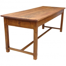 French Refectory Table in Pine, circa 1800