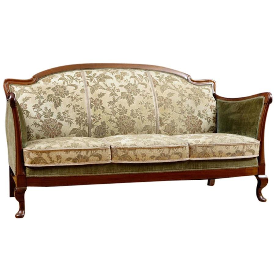 Recamiere biedermeier  Art Deco Sofa, Northern Europe, c. 1930 - Bonnin Ashley Antiques ...