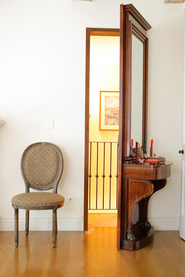 Christian VIII Floor Mirror in Mahogany, c. 1850 - Bonnin Ashley ...