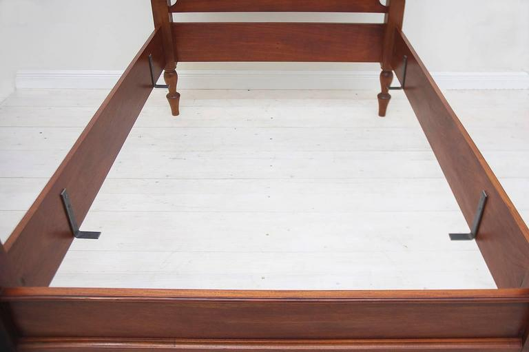 Bonnin Ashley Custom-Made Full-Size Cannonball Bed in Poplar ...