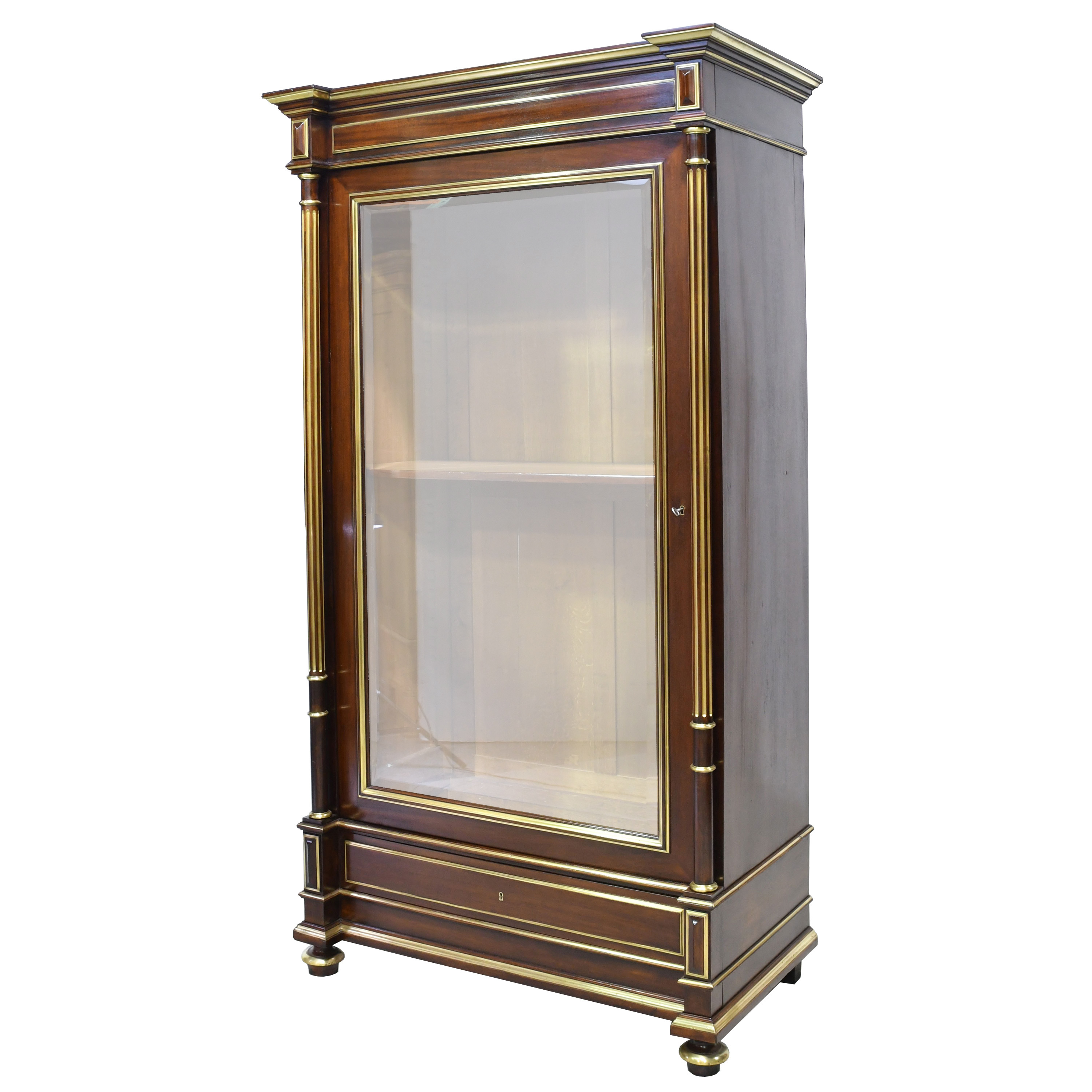 Pair Of French Napoleon Iii Or Second Empire Bookcases In