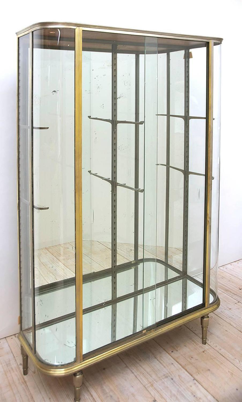 Cool Vitrine Glas Referenz Von French Art Deco Or Glass Cupboard, Circa