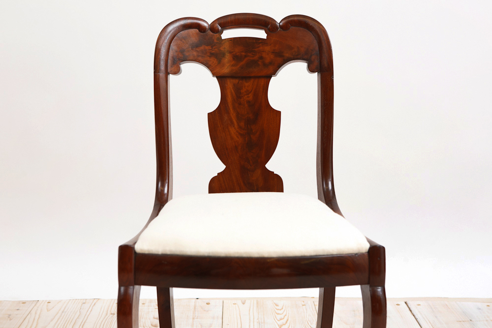 different styles of antique dining chairs oak ebay uk set six empire