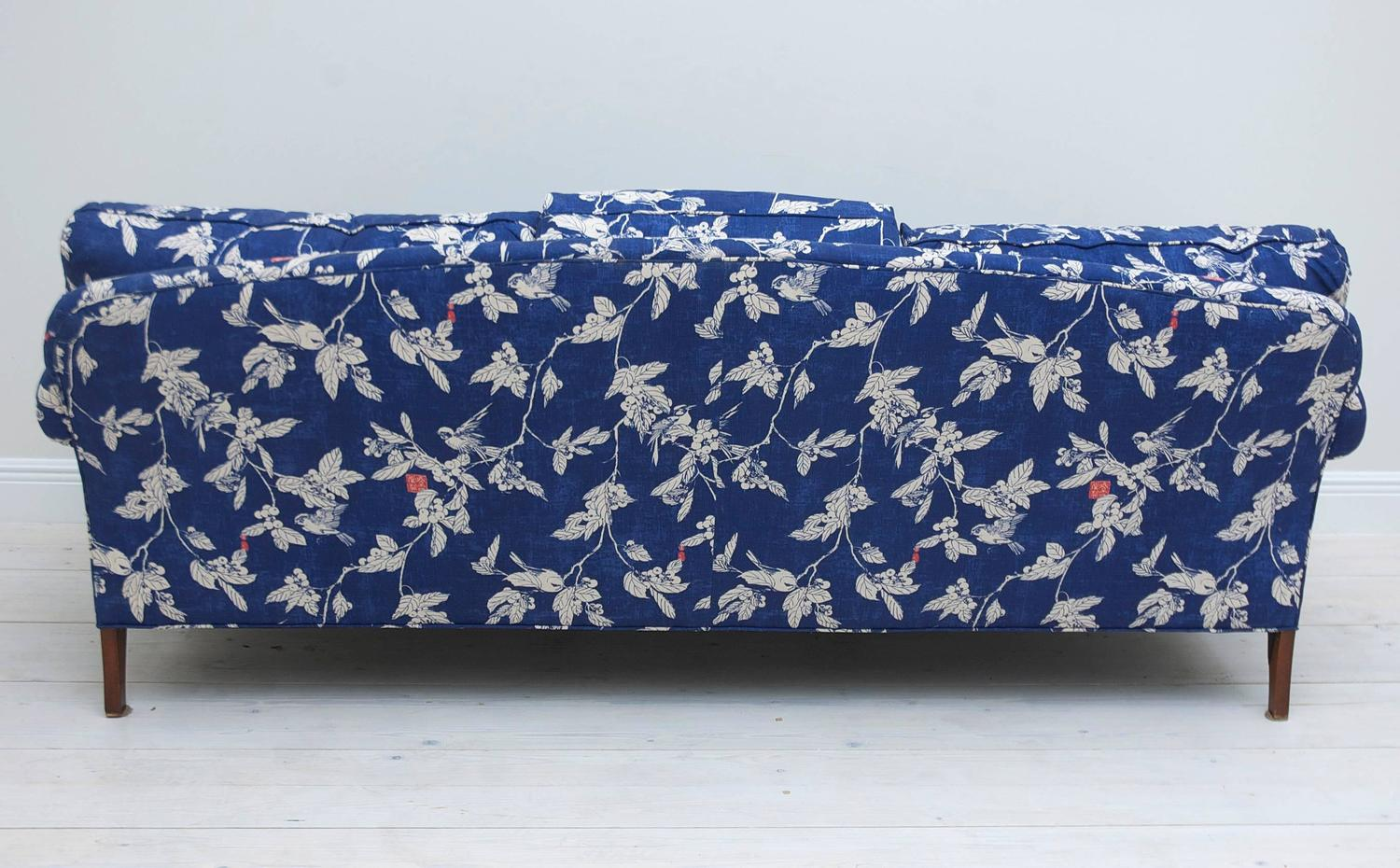 Classic, Fully Upholstered Pearson Sofa Frame With R.P Miller Textile  Fabric NYC