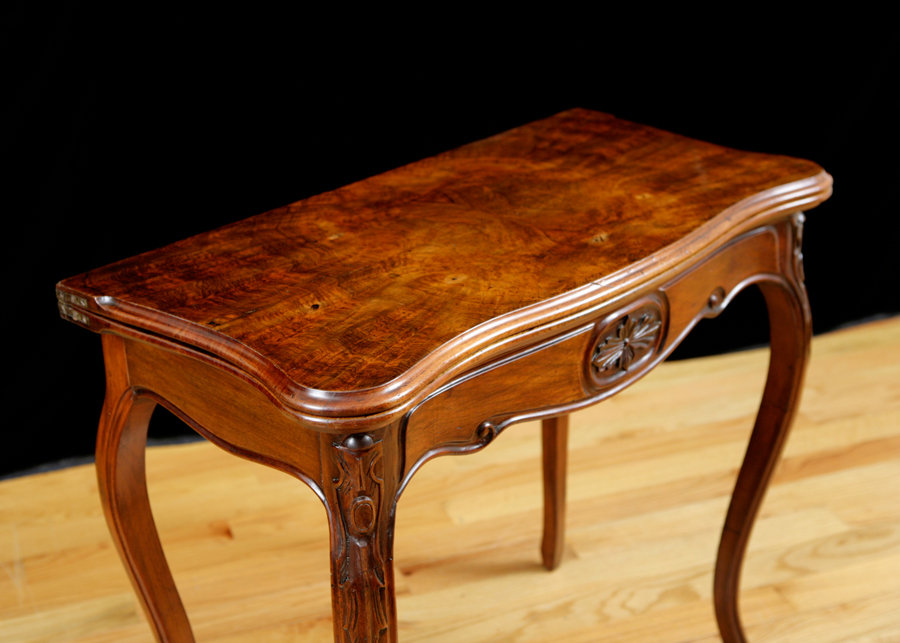French Louis Philippe Game Table Circa 1830