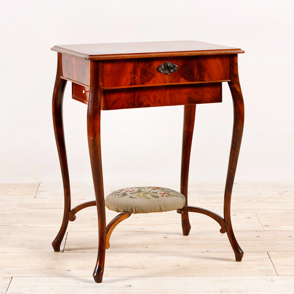 Ordinaire Antique Sewing Table, C.1910