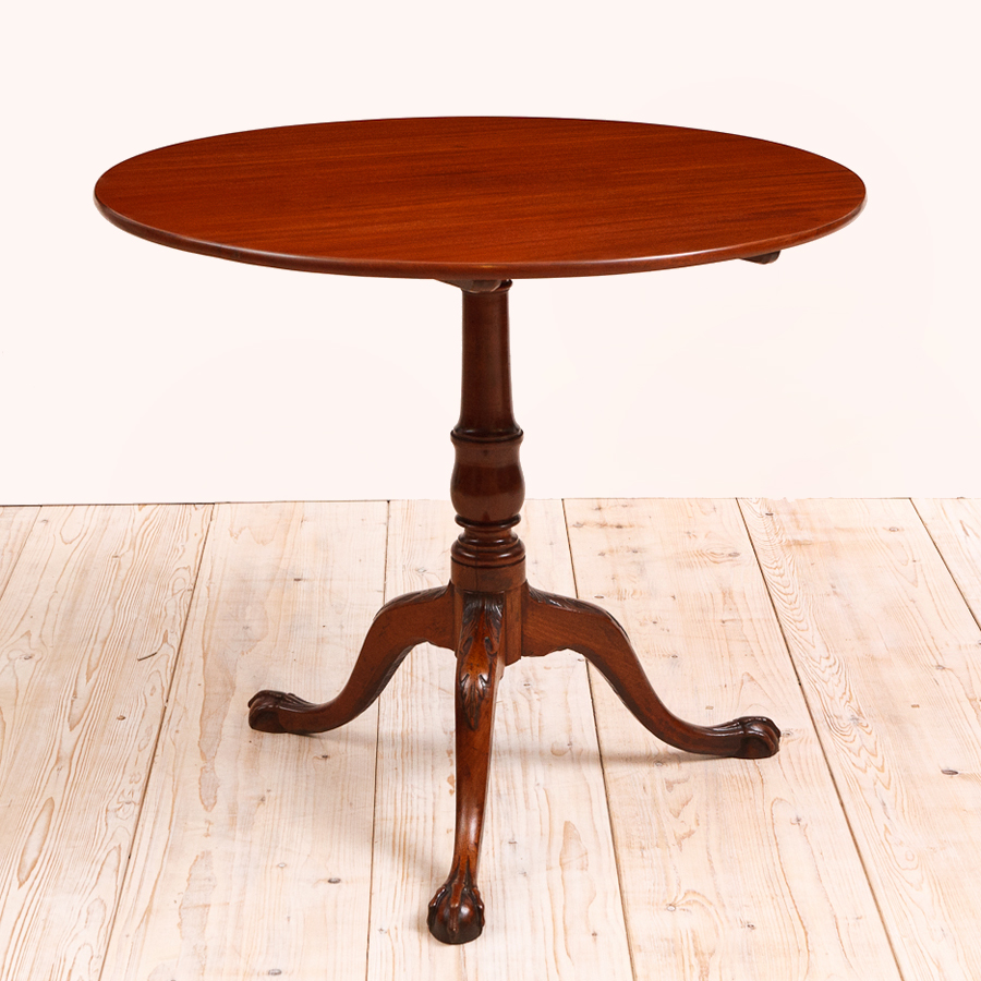 round tilt top center pedestal tripod table sweden 1750 bonnin ashley antiques miami fl. Black Bedroom Furniture Sets. Home Design Ideas