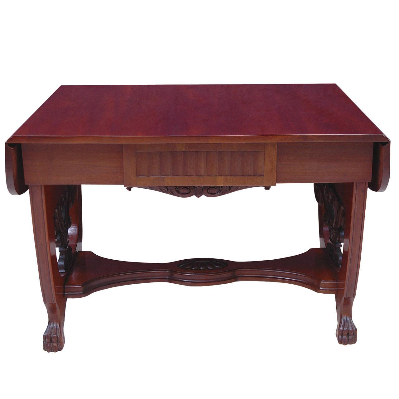 Baltic Empire Style Sofa Or Writing Table, Circa 1910