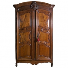 18th Century French Lyonnaise Armoire