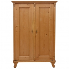 19th Century Austrian Armoire in Pine