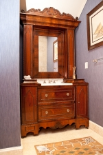 Custom American Victorian Cabinet in Rosewood, c.1860
