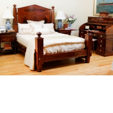 Empire Bed in Mahogany, c. 1840