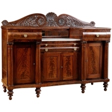 Empire Sideboard from Philadelphia, c. 1830