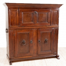 Castle Cupboard in Oak, Northern Europe, c. 1700's with additions