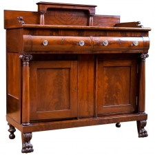 American Empire Sideboard in Mahogany, c. 1820