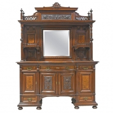 New York City Belle Epoque Cabinet from the American Golden Age, circa 1890