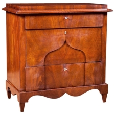 Small Chest of Drawers in Mahogany, Northern Europe, c. 1820