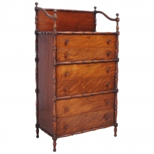 Edwardian Tall Chest of Drawers, circa 1900