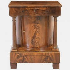 north german biedermeier cabinet or console in mahogany circa
