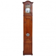 19th Century French Country Long Case Clock
