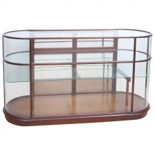Mid Century Glass Display Cabinet