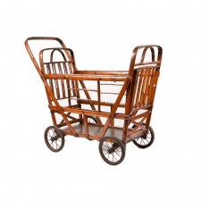 Antique Bamboo Carriage