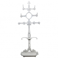 Victorian Cast Iron Coat or Hat Rack with Umbrella Stand, circa 1870