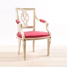 Antique Painted Swedish Arm Chair, c.1815